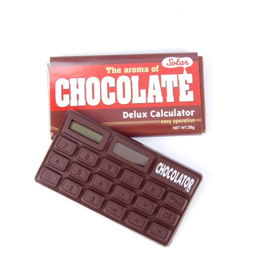 calculadora formato barra chocolate