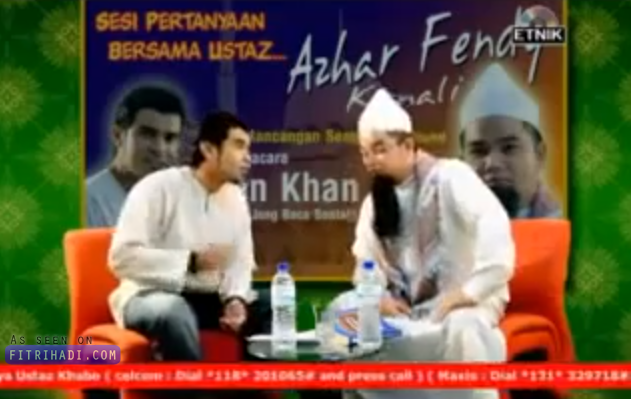 (Video) Lagu Dakwah Ala-Ala Ustaz Azhar Idrus Yang Menarik