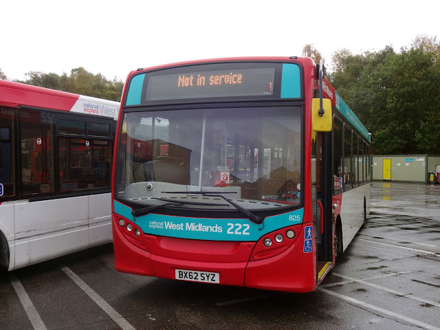 National Express West Midlands (Pensnett Garage) Enviro 200 (825)