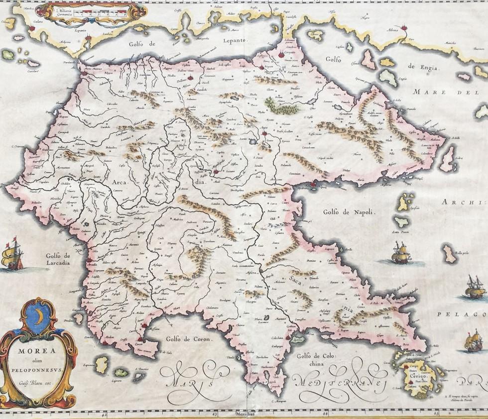 O χάρτης των Willem & Joan Blaeu