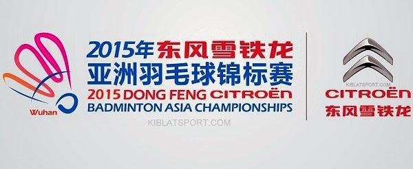 Jadwal Final Badminton Asia Championships 2015