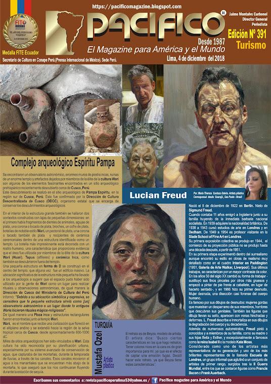Revista Pacifico N° 391 Turismo