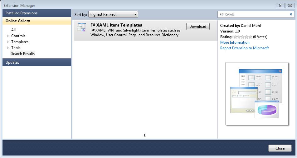 Random Ravings of a Red Headed Code Monkey: F# XAML Item Templates ...