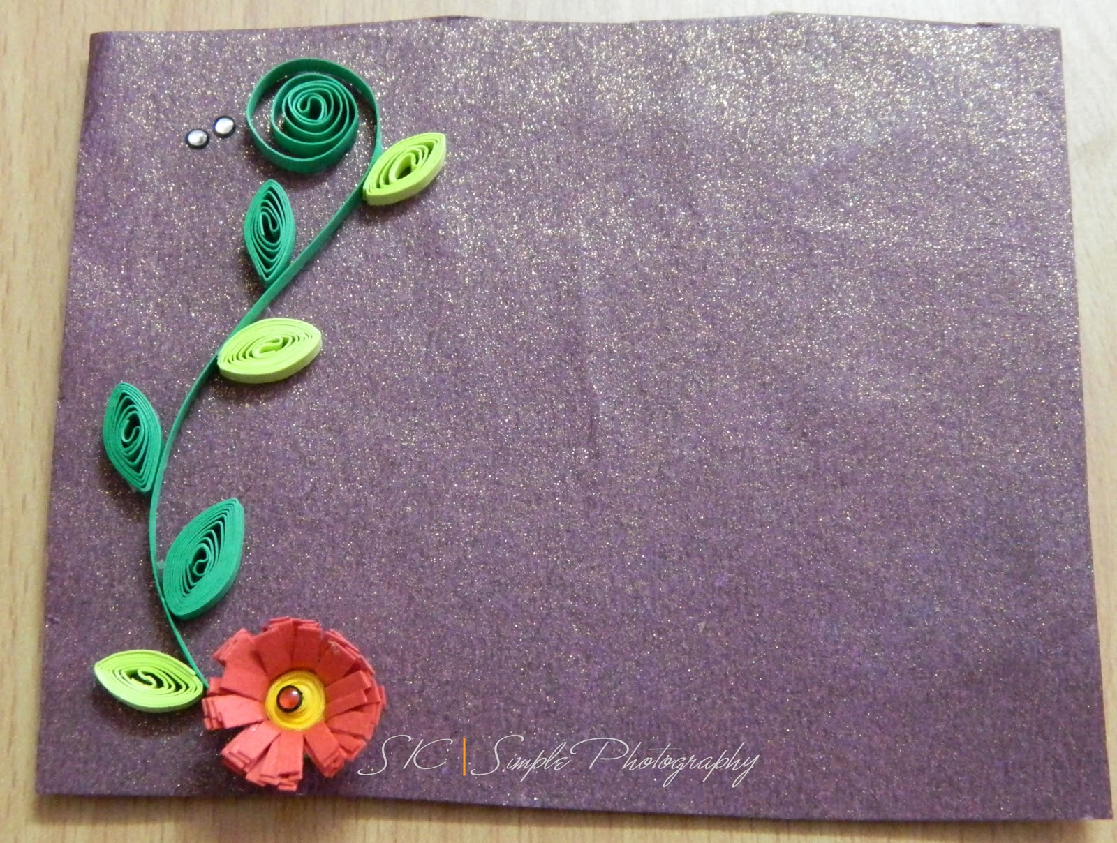 Green theme for paper quilling designs creative art for Paper quilling designs