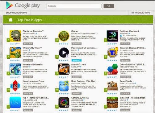 Cara Membuat Aplikasi Google Play Store Berbayar Menjadi Gratis