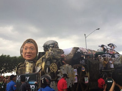 The Futuristic float of  Kimmy Dora: Ang Kiyemeng Prequel