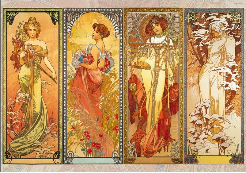 Art Now and Then: Alphonse Mucha