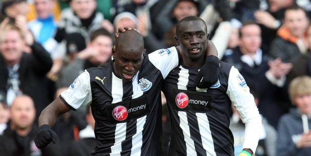 Newcastle 2 - 1 Aston Villa Louise Taylor at St. James' Park