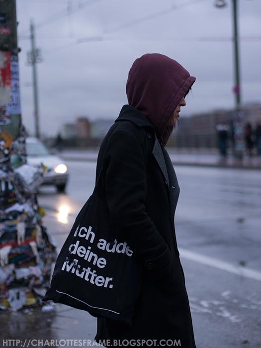 street photography berlin, ich adde deine mutter