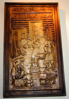 Kronid Gogolev - Art Paintings Made from Wood Carving