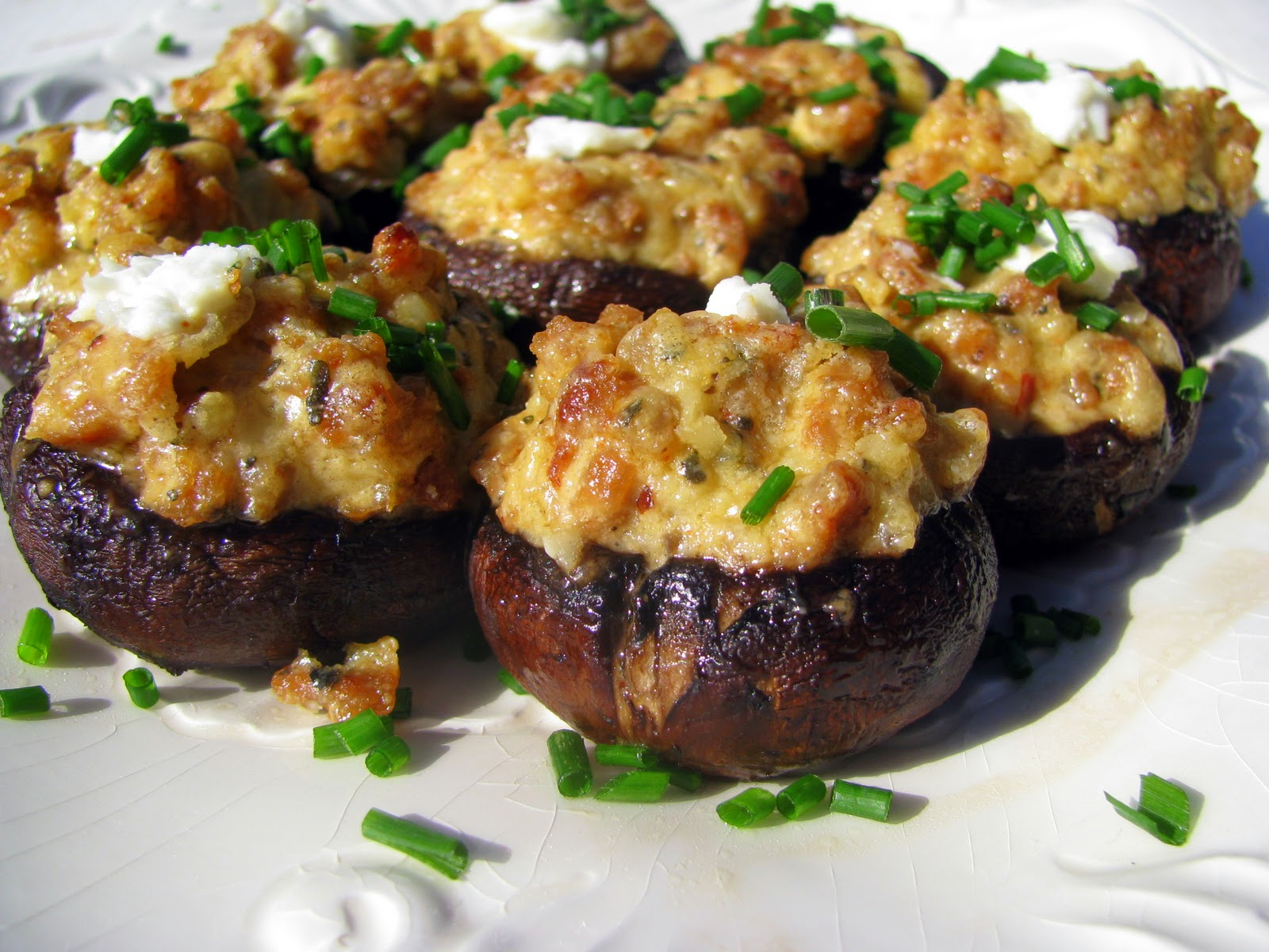 ... these look delicious! They are.... Stuffed Mushrooms are the best