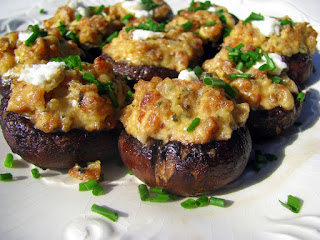 These Stuffed Mushrooms are an excellent Italian Recipe