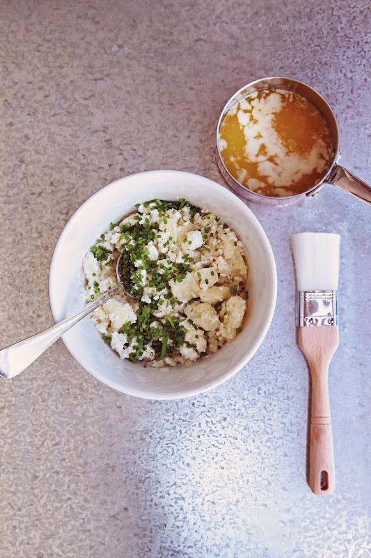 Milk and Honey: Cheese and Potato Bourekas