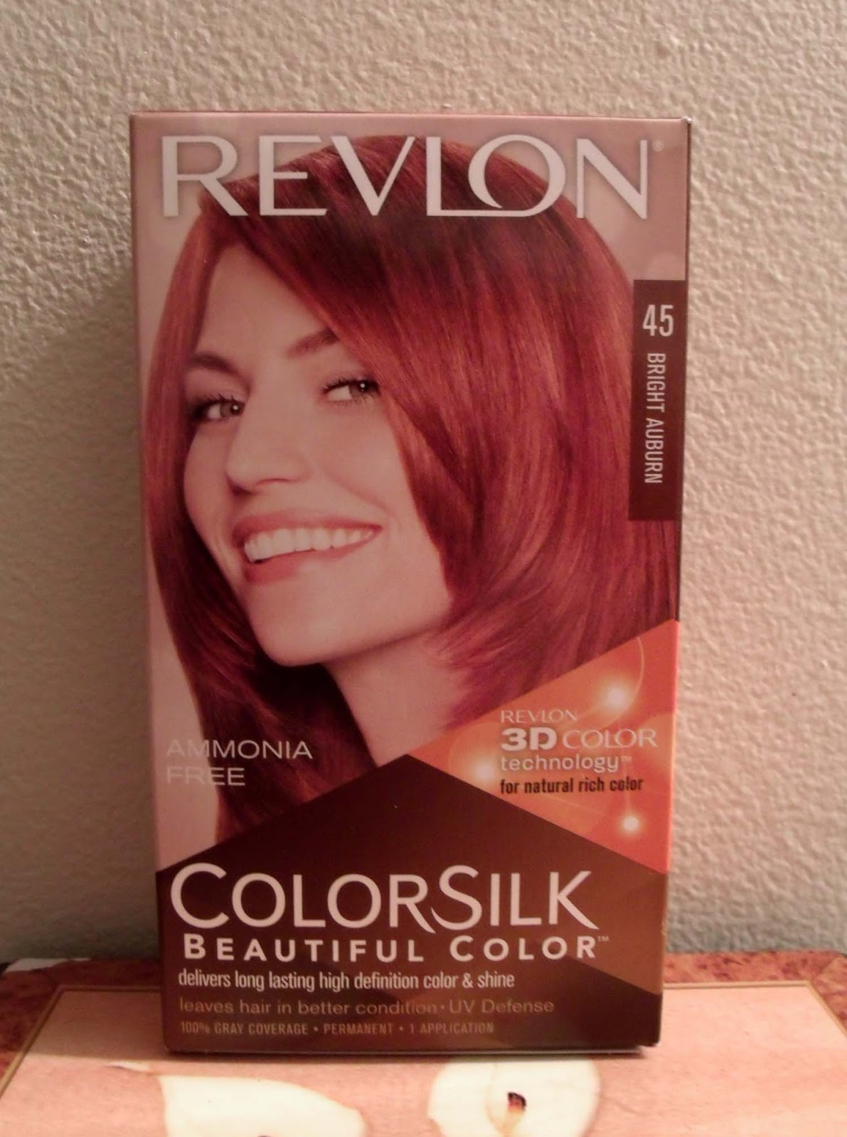 Hair Dye Bright Auburn