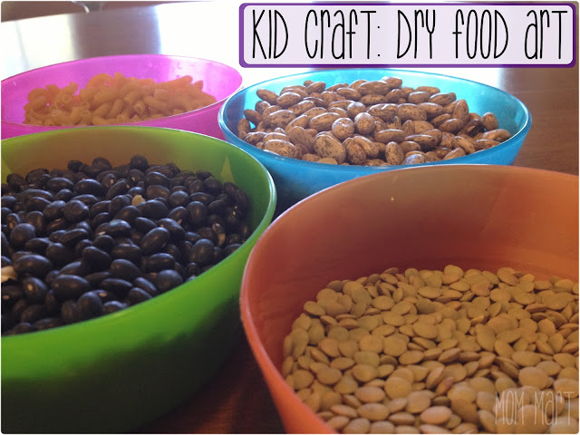 Kid Craft Dry Food Art