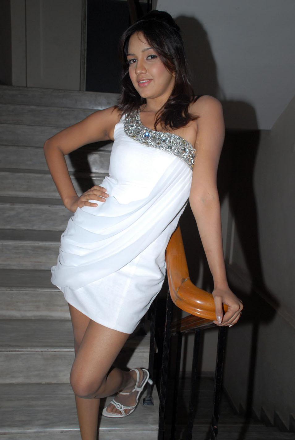 Gorgeous, Pavani Reddy, Sexy, White Shorts, Spicy hot, Legs Show