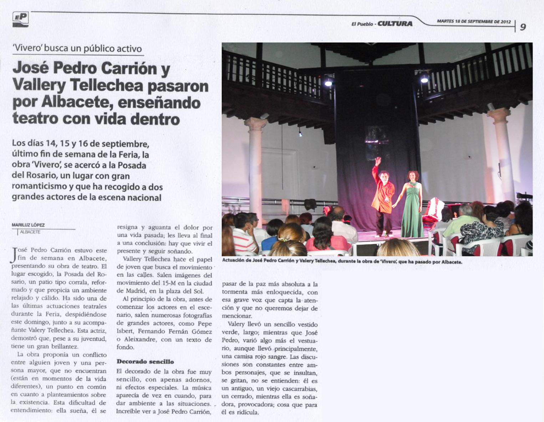CRITICA EL PUEBLO DE ALBACETE 18-SEPTIEMBRE-2012