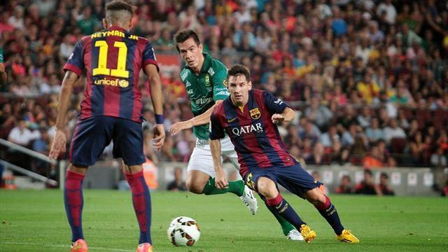 اهداف مبارة برشلونة 4 - 0 التشي [15/1/2015] كأس ملك اسبانيا
