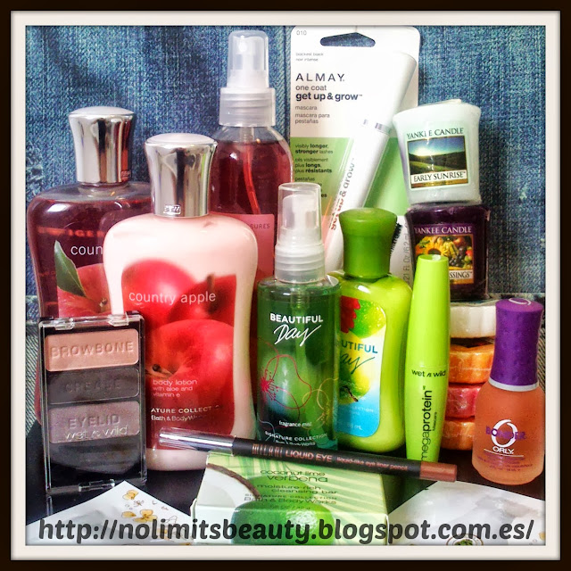 Compras Wet n Wild, Bath & Body Works, Yankee Candle, Milani, Almay