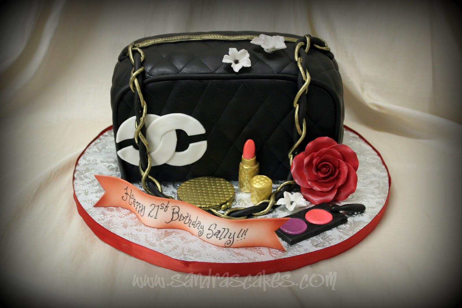 On Birthday Cakes Channel Handbag Cake