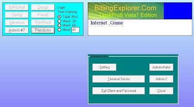 menghubungkan client ke sever billing Explorer