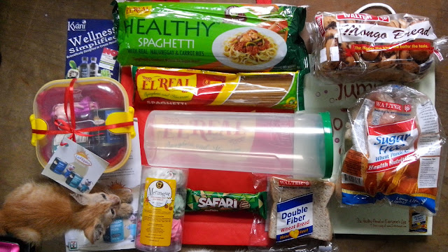 Top Pick Advertising! I like the goodies El Real Pasta Healthy Spaghetti, La Filipina luncheon meat and corned pork, Walter mongo, sugar free and double fiber breads, Gandour Safari chocolate and Goldilocks meringue!