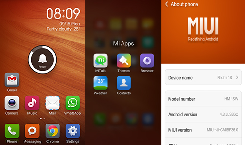 Redmi Interface