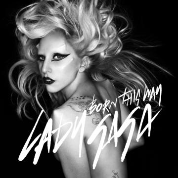 lady gaga born this way skeleton tattoo. lady gaga born this way