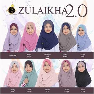 ZULIKHA 2.0 INSTANT SHAWL KIDS