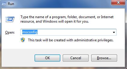 Cara Mempercepat Startup Windows 7