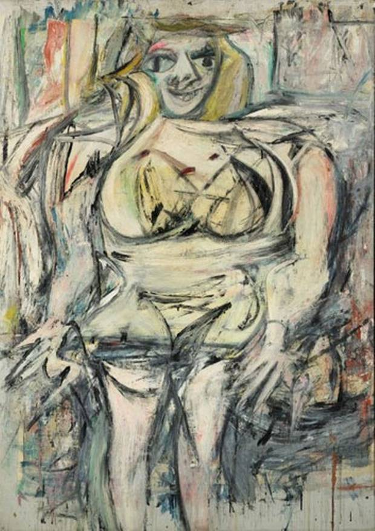 Willem De Kooning Woman III 1952-53 Oil on canvas
