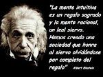 """""""La mente intuitiva es un regalo"""""""