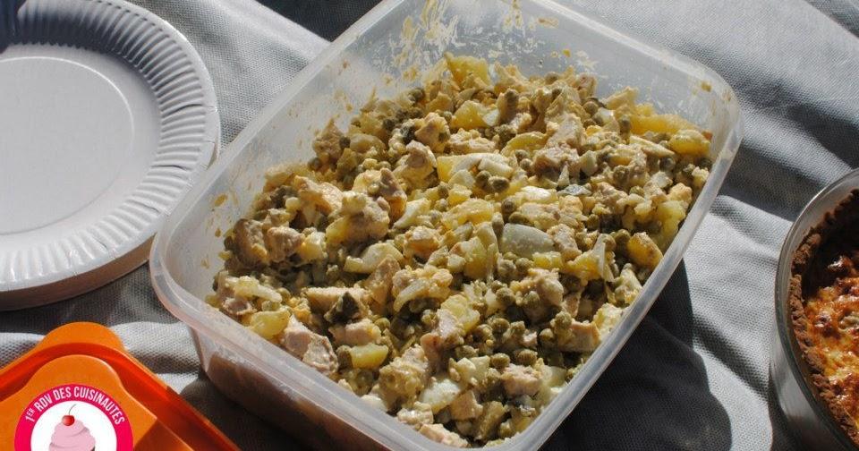 D lices d 39 une novice salade olivier recette de f te russe - Cuisine traditionnelle russe ...