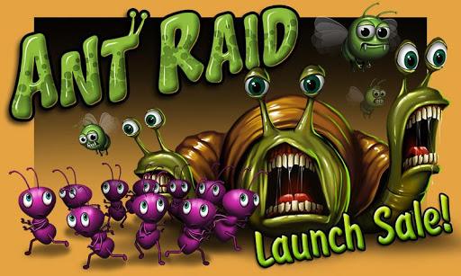 Ant Raid games