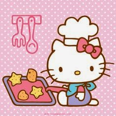 Gambar Hello Kitty Memasak Kue Lucu Hello Kitty Cooking Games