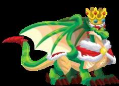 dragon rey adulto