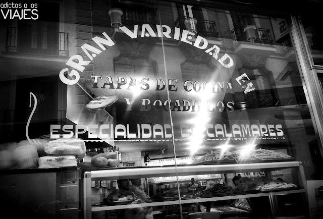 Bar típico madrileño