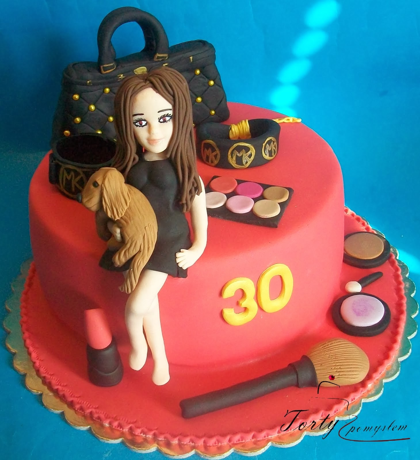 tort urodzinowy dla dziewczyny