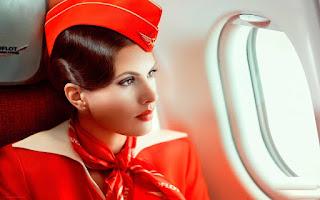 Aeroflot Cabin Crew Uniform