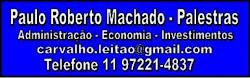 Palestras Paulo Roberto Machado