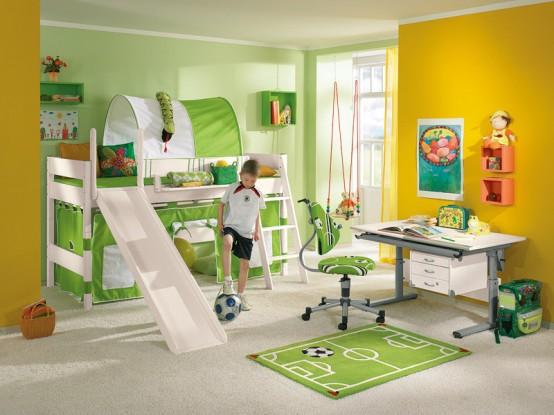 احدث الوان دهانات غرف الاطفال