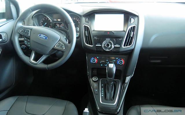Novo Focus 2016 - interior - painel