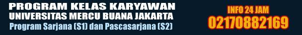 UniversitasKuliahKaryawan.com Kuliah Karyawan S1 dan S2 Universitas Mercu Buana