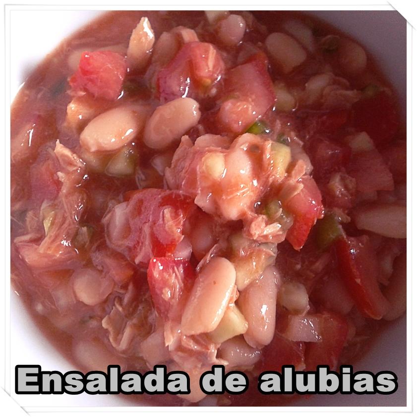 Las cosas de maku ensalada de alubias - Ensalada de alubias ...