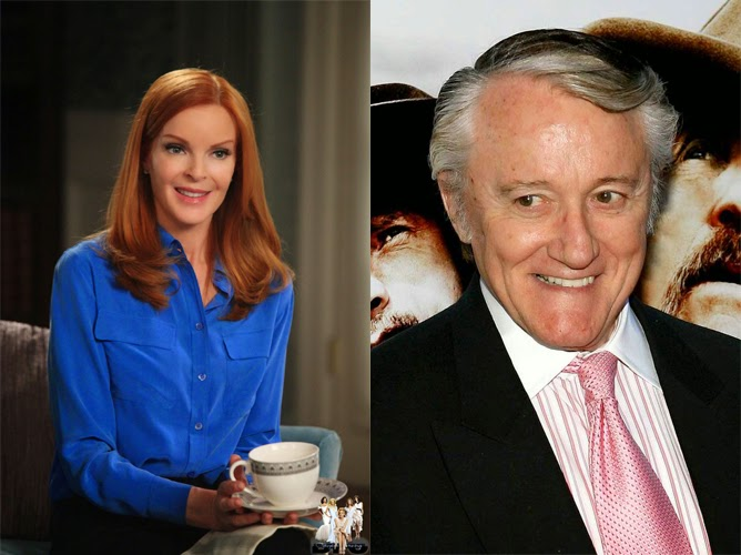 Law and Order SVU - Marcia Cross & Robert Vaughn Interview - Questions Needed