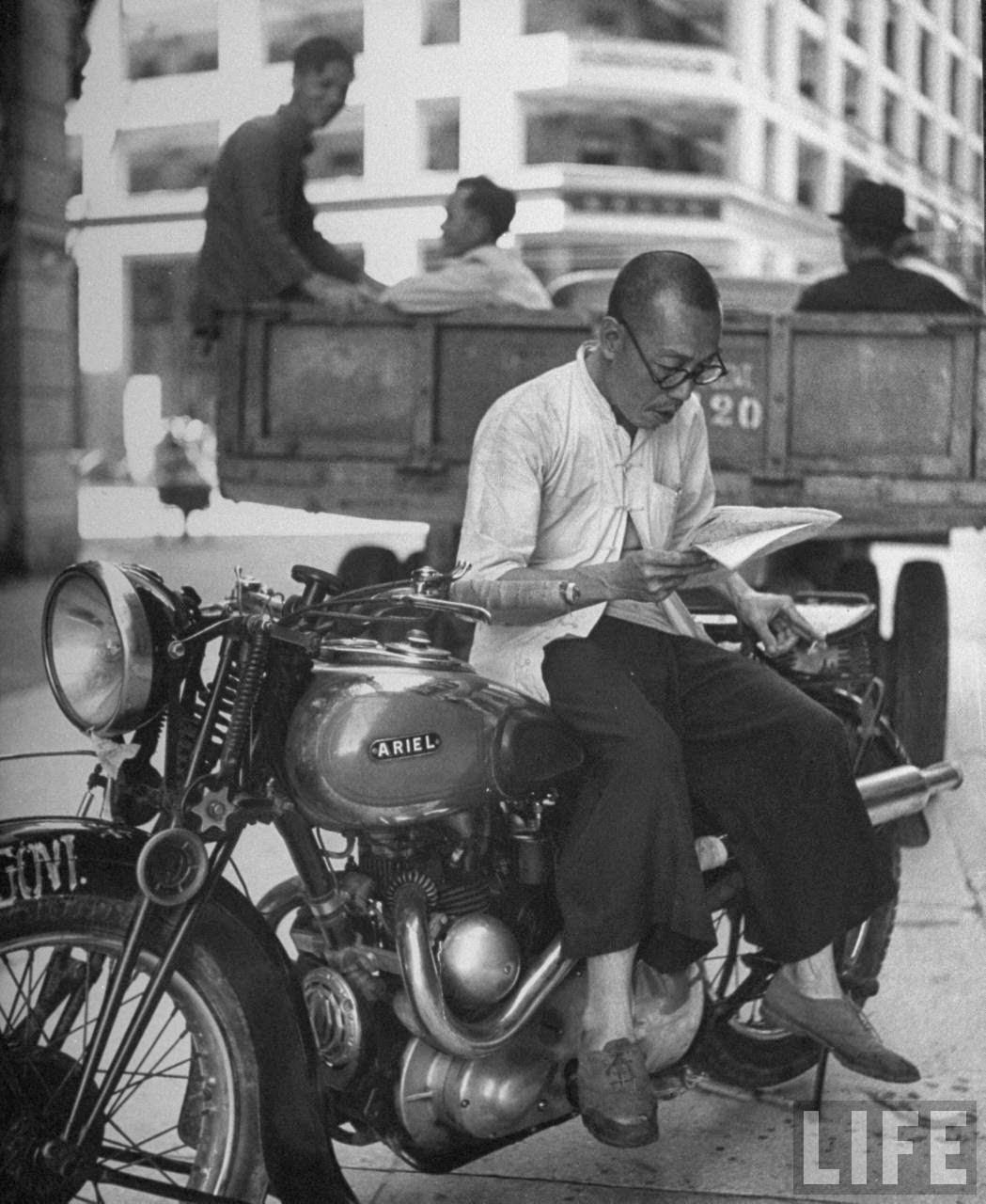 Amazing Hong Kong: Amazing Black And White Photos Of Hong Kong In 1945