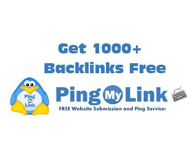 free 1000+ backlinks