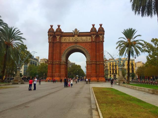Barcelona, Arco de Triumfo
