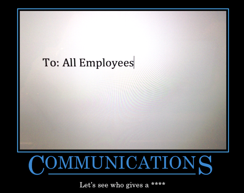 when communication fails A failure to communicate summary workplace communication failure is a significant issue for organisations, with major consequences.