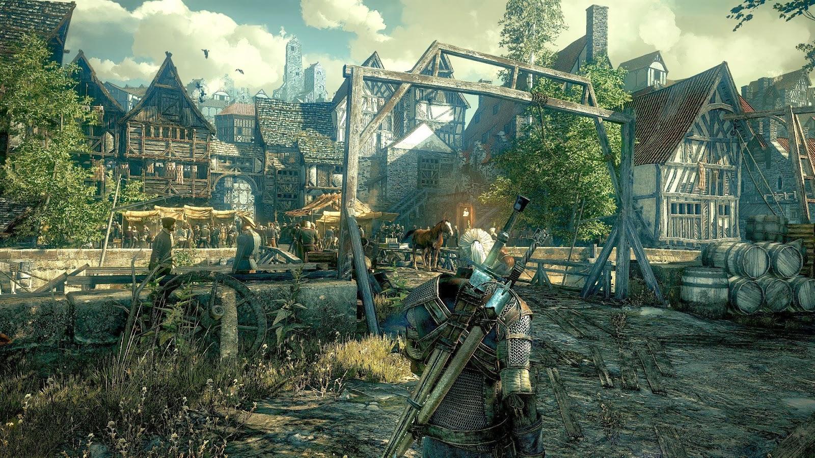Increíbles escenarios en The Witcher 3
